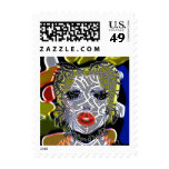 jak arnould 0335 laddvy stamp art