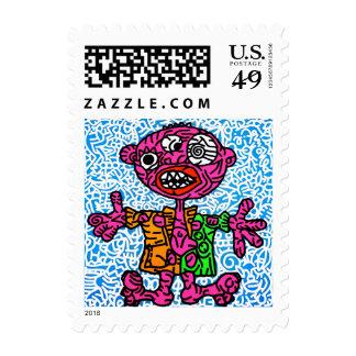 jak arnould 0355 a l'aise blaise stamp