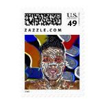 jak arnould 0358 stamp art