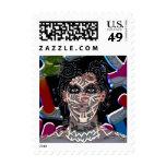 jak arnould 0370 fernando pop art postage stamps