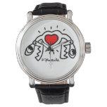 jak arnould 0603 double snackart watch