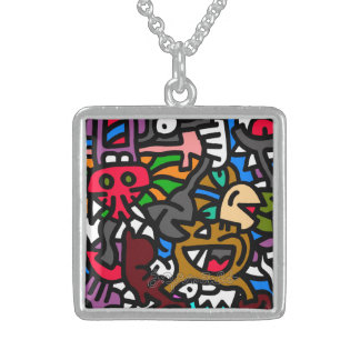 jak arnould 1112 mégalte by jak sterling silver necklace