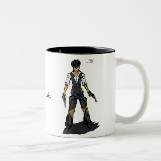 Jak Knightmare & Tommy Valor Two-Tone Coffee Mug