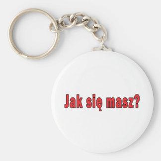 jak sie masz? - How Are You Keychain