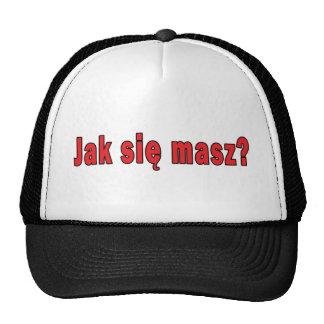 jak sie masz? - How Are You Trucker Hat