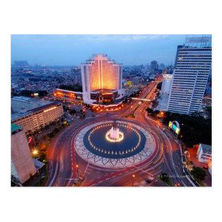 Jakarta Cityscape Post Cards