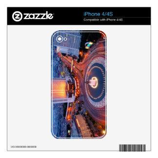 Jakarta Cityscape iPhone 4S Skins