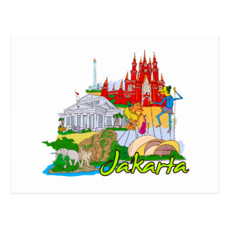 Jakarta - Indonesia.png Postcard