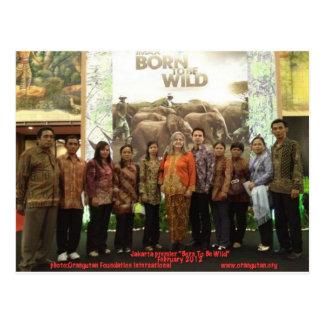 Jakarta Movie premiere Postcard