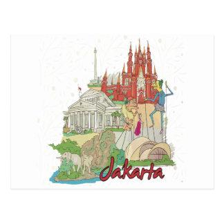 Jakarta Post Card