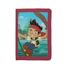 Jake 4 tri-fold wallets at Zazzle