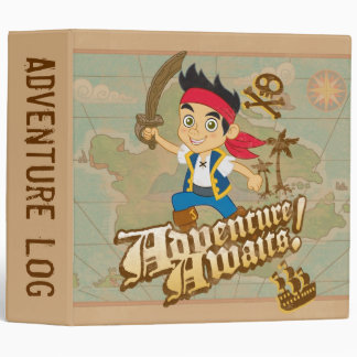 Jake and the Never Land Pirates | Adventure Awaits 3 Ring Binder