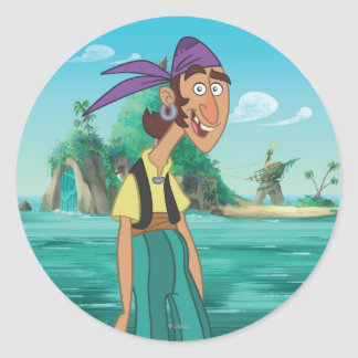 Jake and the Never Land Pirates | Bones Classic Round Sticker
