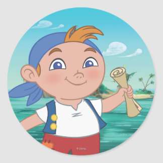 Jake and the Never Land Pirates | Cubby Classic Round Sticker