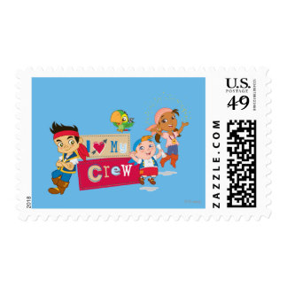 Jake and the Never Land Pirates | I Love My Crew Postage
