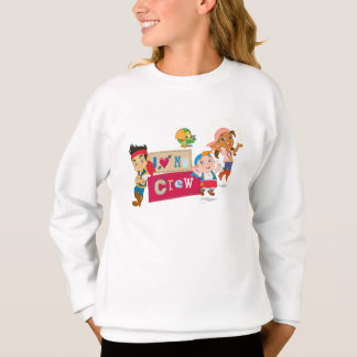 Jake and the Never Land Pirates | I Love My Crew Sweatshirt