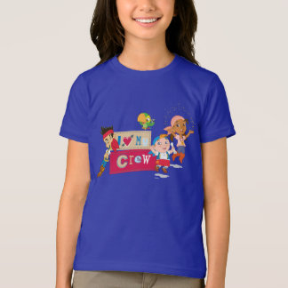 Jake and the Never Land Pirates | I Love My Crew T-Shirt