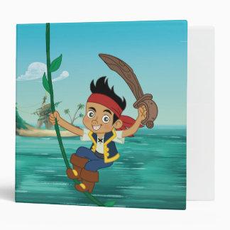 Jake and the Never Land Pirates | Jake Running 3 Ring Binder