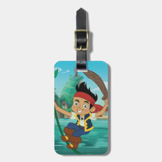 Jake and the Never Land Pirates | Jake Running Luggage Tag