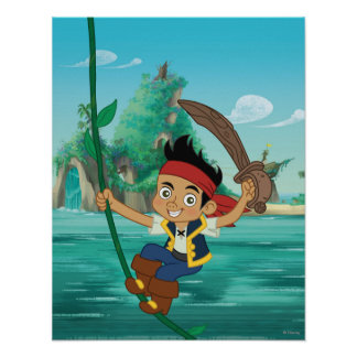 Jake and the Never Land Pirates | Jake Running Poster