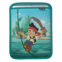 Jake and the Never Land Pirates   Jake Running Sleeve For iPads