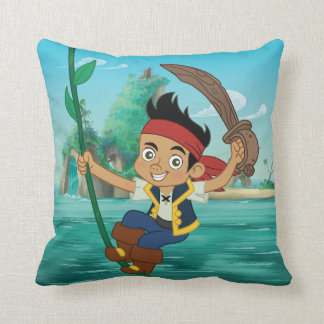 Jake and the Never Land Pirates | Jake Running Throw Pillow
