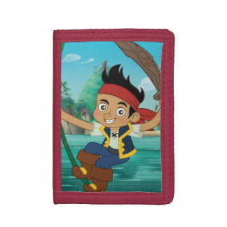 Jake and the Never Land Pirates | Jake Running Trifold Wallet