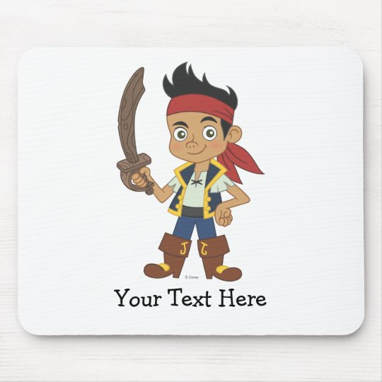 Jake and the Never Land Pirates | Jake with Sword Mouse Pad