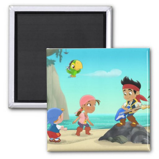 Jake and the Neverland Pirates 2 Refrigerator Magnets