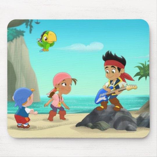 Jake and the Neverland Pirates 2 Mouse Pad
