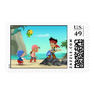 Jake and the Neverland Pirates 2 Stamp