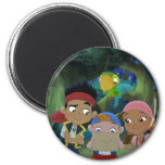 Jake and the Neverland Pirates 3 2 Inch Round Magnet