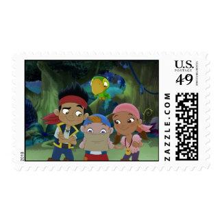 Jake and the Neverland Pirates 3 Stamp