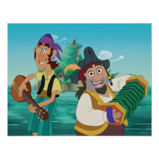 Jake and the Neverland Pirates | Sharky & Bones Poster