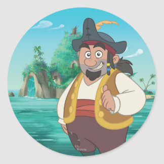 Jake and the Neverland Pirates | Sharky Classic Round Sticker