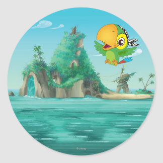 Jake and the Neverland Pirates | Skully Flying Classic Round Sticker