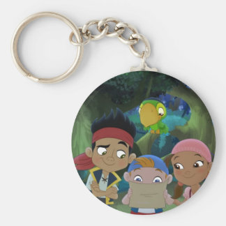 Jake and the Neverland Pirates | Treasure Map Keychain