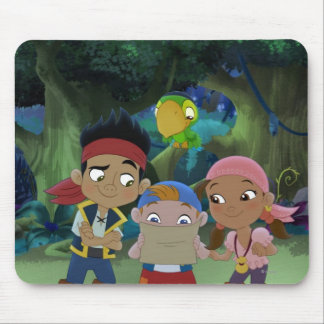 Jake and the Neverland Pirates | Treasure Map Mouse Pad