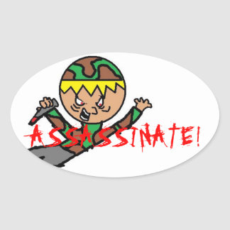 Jake Assassinate Sticker