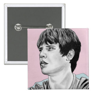 Jake Bugg Badge 2 Inch Square Button
