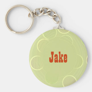 Jake Green Custom Key Ring
