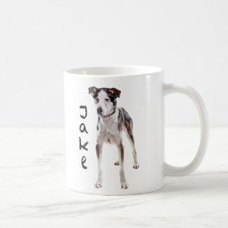 Jake Classic White Coffee Mug