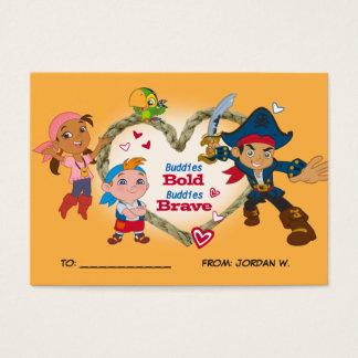 Jake & Pirates   Valentine's Day 100pk Card