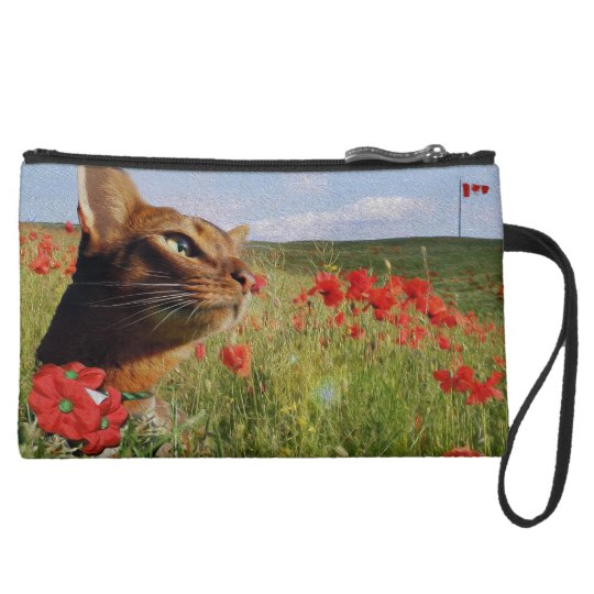 Jake Poppies Wristlet