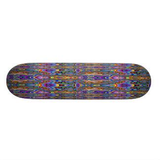 Jake Skateboard Psychedelic Design