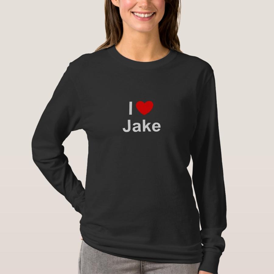 Jake T-Shirt - Best Selling Long-Sleeve Street Fashion Shirt Designs