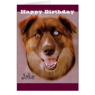 Jake the dog greeting cards