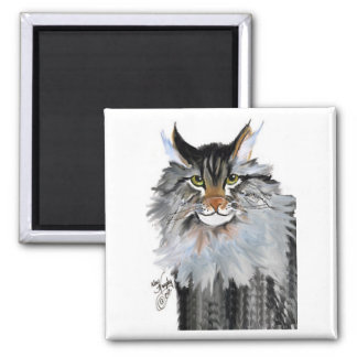 Jake the maine coon magnets