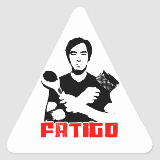 Jake Weight Promo Stickers! Triangle Sticker