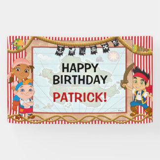 Jake y el cumpleaños de los piratas de Neverland Lona